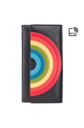 Жіночий гаманець Visconti HR80 (Black Rainbow)