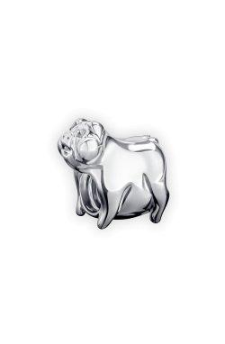Серебряный шарм наф наф small из родированного серебра 925-й пробы (31 83 )