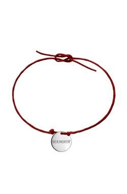 Подарочный браслет веселись из родированного серебра 925-й пробы (51 28 )