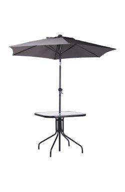 Комплект Playa черный/темно-серый - 521836