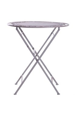 Стол Мерибель металл, винтаж грей - 521821