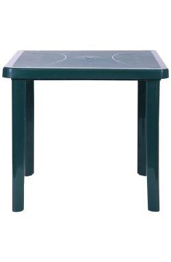 Стол Nettuno 80х80 пластик зеленый 15 - 200014
