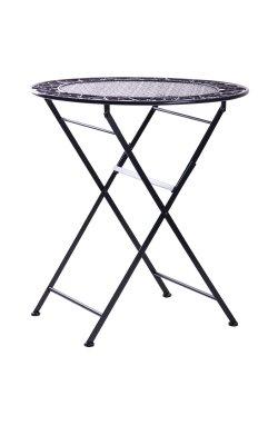 Стол Антиб металл, винтаж блек - 521825