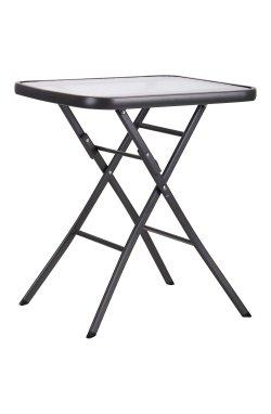 Стол Mexico т.серый, стекло - 519718