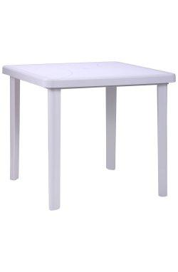 Стол Nettuno 80х80 пластик белый 01 - 200011
