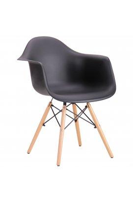 Кресло Salex PL Wood Черный - AMF - 520663