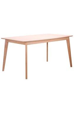 Стол обеденный раздвижной Чедер бук беленый - AMF - 521483
