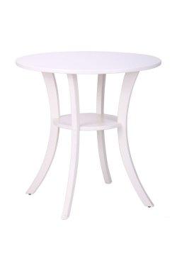 Стол Классик круглый белый, ножки белый - AMF - 158511