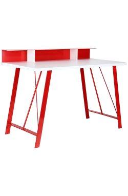 Компьютерный стол Mayakovsky красный/белый - AMF - 521167