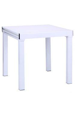 Стол Пирей B179-76-2 750(1500)*750*750 База белый/Стекло белый - AMF - 511321