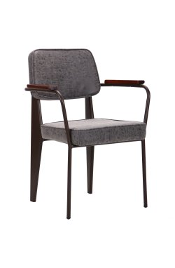 Кресло Lennon кофе / бетон - AMF - 521909