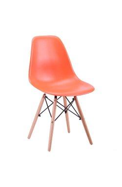 Стул Aster PL Wood Пластик Оранжевый - AMF - 513139