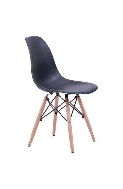 Стул Aster PL Wood Пластик Черный - AMF - 512017