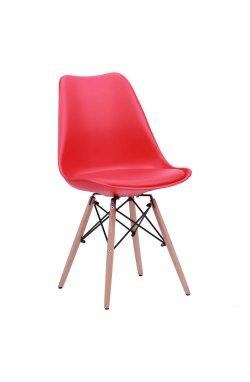 Стул Aster Wood Пластик Красный - AMF - 512033