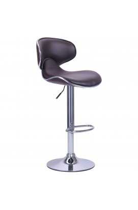 Барный стул Cantal коричневый - AMF - 515546