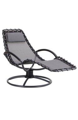 Шезлонг Surf черный/темно-серый - AMF - 521887