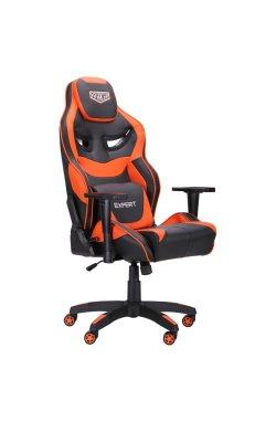 Кресло VR Racer Expert Genius черный/оранжевый - AMF - 521173