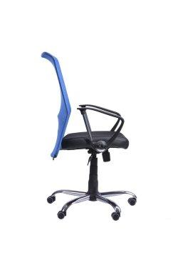 Кресло АЭРО HB сиденье Сетка черная, Неаполь N-20/спинка Сетка синяя - AMF - 023231