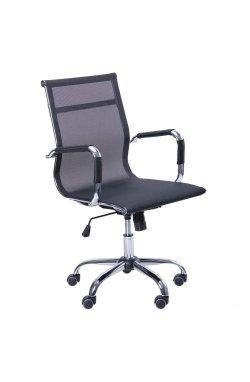 Кресло Slim Net LB (XH-633B) черный - AMF - 512068