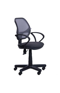 Кресло Чат/АМФ-4 сиденье А-14/спинка Сетка серая - AMF - 025657