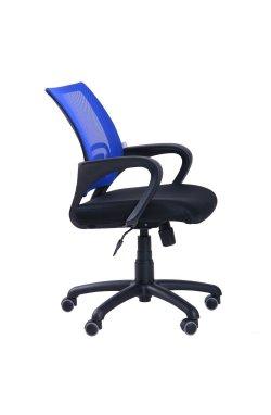 Кресло Веб сиденье Сетка черная/спинка Сетка синяя - AMF - 117023
