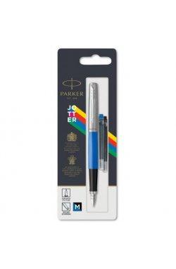 Ручка перьевая Parker JOTTER 17 Plastic Blue CT FP M блистер 15 116