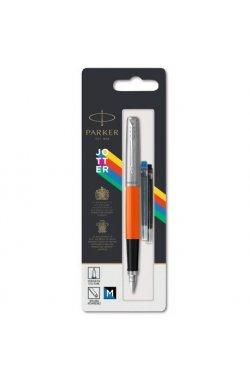 Ручка перьевая Parker JOTTER 17 Plastic Orange CT FP M блистер 15 416