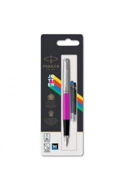 Ручка перьевая Parker JOTTER 17 Plastic Pink CT FP M блистер 15 516