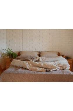 Washed Linen комплект постельного белья, лён