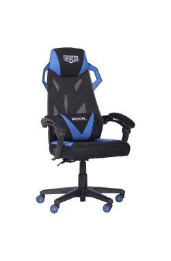 Кресло VR Racer Radical Garrus черный/синий - AMF - 545591