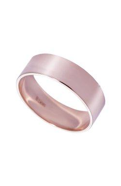 Обручальное кольцо american широкое розовое золото из красного золота 585-й пробы (1103393)