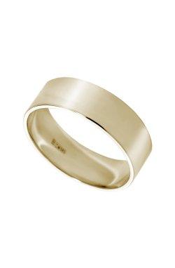 Обручальное кольцо american широкое желтое золото из желтого золота 585-й пробы (1103392)