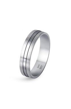 Обручальное кольцо в белом золоте из белого золота 585-й пробы (111 84)