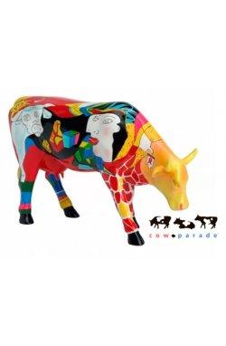 Коллекционная статуэтка корова Hommage Picowso's - wws-4296