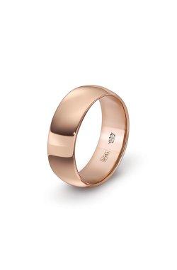 Золотая обручальное кольцо fidelity из красного золота 585-й пробы (1109923)