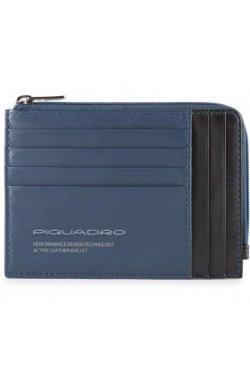 Кредитница Piquadro DOWNTOWN/Blue PU1243DTR_BLU