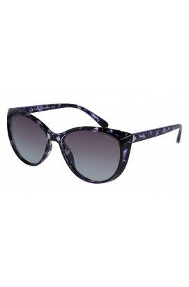 Женские солнцезащитные очки INVU B2028C - бабочки, Цвет линз - фиолетовый