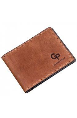 Компактный зажим для денег без застежки GRANDE PELLE 11240