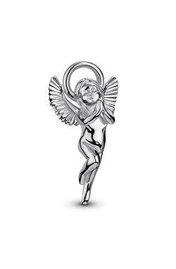 Серебряный кулон ангел надежды из родированного серебра 925-й пробы (31 67 )