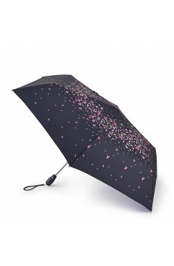 Зонт женский Fulton L711 Open & Close Superslim-2 Pansy Fall (Анютины глазки)