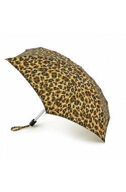 Зонт женский Fulton L501 Tiny-2 Bling Leopard (Леопард с блестками)