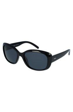 Женские солнцезащитные очки INVU B2916E - прямоугольные, Цвет линз - дымчатый