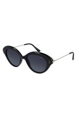 Женские солнцезащитные очки INVU T2006A - бабочки, Цвет линз - серый