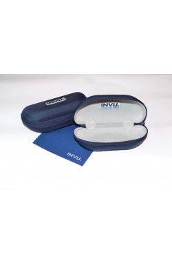Солнцезащитные очки INVU A2501L - облегающие, Цвет линз - желтый