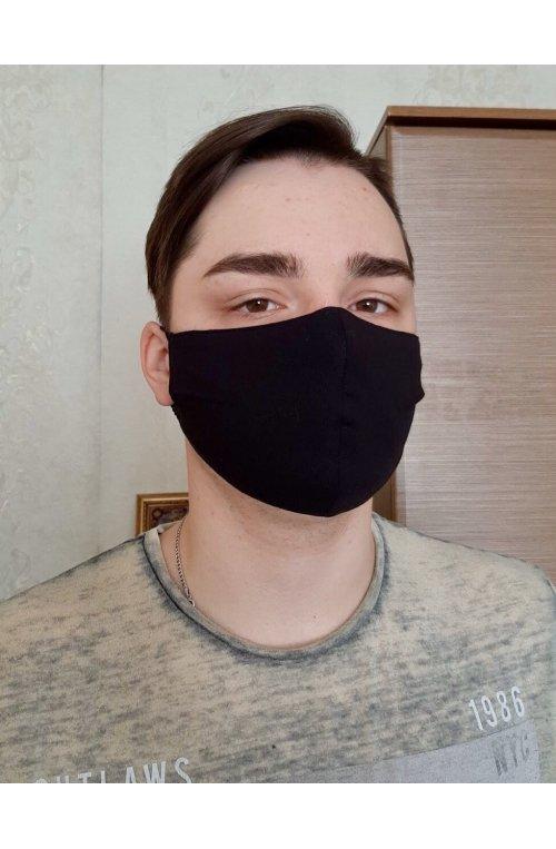 Захисна маска для обличчя багаторазова