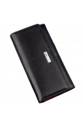 Жіночий шкіряний горизонтальний гаманець KARYA 17378