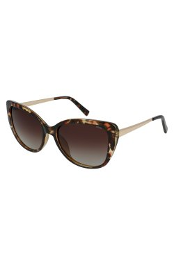 Женские солнцезащитные очки INVU B2005B - бабочки, Цвет линз - коричневый
