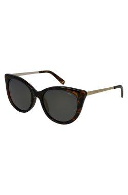 Женские солнцезащитные очки INVU B2010B - кошечки , Цвет линз - дымчатый