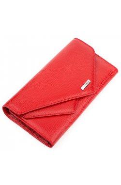 Кошелек женский KARYA 17188 кожаный Красный