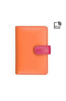 Кошелек женский Visconti RB51 Fiji с RFID (Orange Multi)